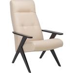 Кресло Leset Tinto релакс (реклайнер 3 положения спинки) венге/ polaris/ beige