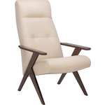 Кресло Leset Tinto релакс (реклайнер 3 положения спинки) орех/ polaris/ beige