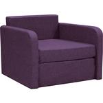 Кресло-кровать Шарм-Дизайн Бит фиолетовый