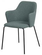 Кресло Dwight, рогожка, серо-голубое Berg