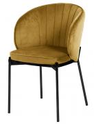 Кресло Coral, велюр, светло-коричневое Berg