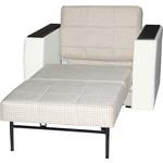 Кресло-кровать Мебелико Атлант основа Корф-02 экожа белый