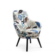 Дизайнерское кресло CONFORM Gaga swivel oak