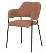 Кресло Wendy, рогожка, терракота, Berg