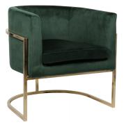 Кресло Rufus, темно-зеленое Berg
