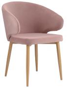 Кресло Berg Cecilia, Berg пудрово-розовое