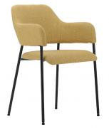 Кресло Wendy, рогожка, горчичное, Berg