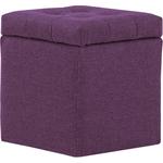Пуф Шарм-Дизайн Шарм с ящиком фиолетовый
