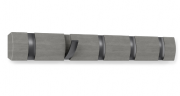 Вешалка настенная Flip, 5 крючков, серая Umbra