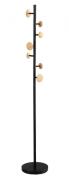 Вешалка напольная Paletta, 170 см, черная/бежевая Berg