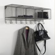 Вешалка-этажерка La Redoute Из металлической проволоки Arglo единый размер серый