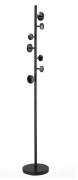 Вешалка напольная Paletta, 170 см, черная Berg