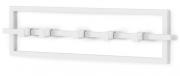 Вешалка настенная Cubiko белая Umbra