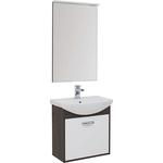 Мебель для ванной Aquanet Грейс 65 дуб кантербери/белый ящик