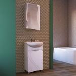 Мебель для ванной Raval Folle 45 напольная, белая