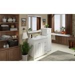 Мебель для ванной Comforty Тбилиси 90 белый глянец