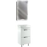 Мебель для ванной Cersanit Basic 50 два ящика, белая