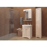 Мебель для ванной Mixline Крит 65 патина серебро