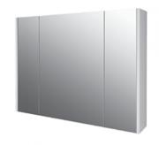 Зеркальный шкаф Dreja Prime 90 см, 99.9306 подвесной, белый