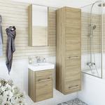Мебель для ванной Sanflor Ларго 40 подвесная, швейцарский вяз