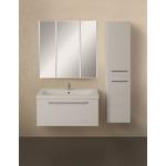 Мебель для ванной 1Marka Соната 90П с ящиком, белый глянец