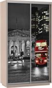 """Экспресс Фото Ночной Лондон дуо """"Е1"""" В 2200 Ш 1400 Г 600"""