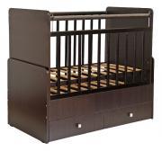 Кровать-трансформер Фея детская 720 венге