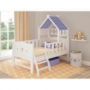 Подростковая кровать Giovanni White/BLUE (Белый/Синий) 160*80см