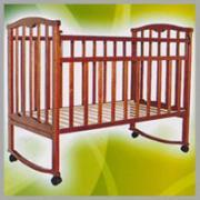 """Кровать детская 120*60 """"Золушка-1"""" (колесо+качалка)"""