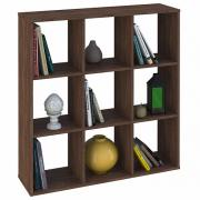 Стеллаж Polini Home Smart Кубический 9 секции, винтаж