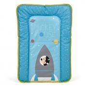 Доска пеленальная мягкая Polini Kids Disney baby Микки Маус 70х50, голубой