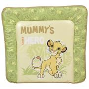 Доска пеленальная мягкая Polini Kids Disney baby Король Лев 77х72, салатовый