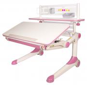 Парта-трансформер BrightKID для школьника для дома T1-003 розовый
