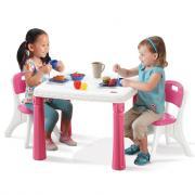 Столик со стульями Step2 Розовый