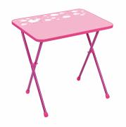 Стол детский складной Nika СА2/Р Алина 2 розовый
