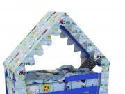 Накидка на кровать домик - Накидка на кровать-домик