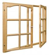 Рама верандная деревянная 1200х1500х45 мм