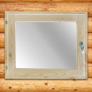Окно, 50*60см, двойное стекло, из хвои