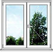 Пластиковое окно ПВХ REHAU Blitz Design - размер 1450мм*1420мм