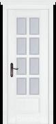 Дверь Sardegna 2 массив дуба белый со стеклом