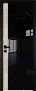 Межкомнатная дверь ProfilDoors 5AGK Без окраса LACOBEL ЧЕРНЫЙ ЛАК