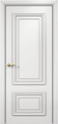 Дверь Оникс модель Мадрид Цвет:эмаль белая мдф Остекление:Без стекла