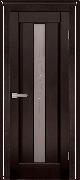 Межкомнатная дверь Версаль массив ольхи Цвет:венге Тип:со стеклом