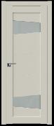Дверь ProfilDoors Серия U модель 2.84U Цвет:Магнолия Сатинат Остекление:Стекло матовое