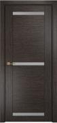 Межкомнатная дверь Оникс Тектон 3 Цвет:абрикос Остекление:Сатинат графит