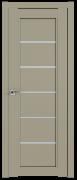 Дверь ProfilDoors Серия U модель 2.76U Цвет:Шеллгрей Остекление:Стекло матовое
