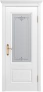Межкомнатная дверь Аккорд В1 Цвет:эмаль белая Тип:со стеклом