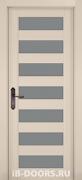 Дверь Abruzzo массив ольхи крем со стеклом