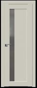 Дверь ProfilDoors Серия U модель 2.71U Цвет:Магнолия Сатинат Остекление:Графит