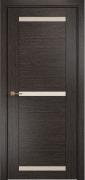 Межкомнатная дверь Оникс Тектон 3 Цвет:абрикос Остекление:Сатинат бронза